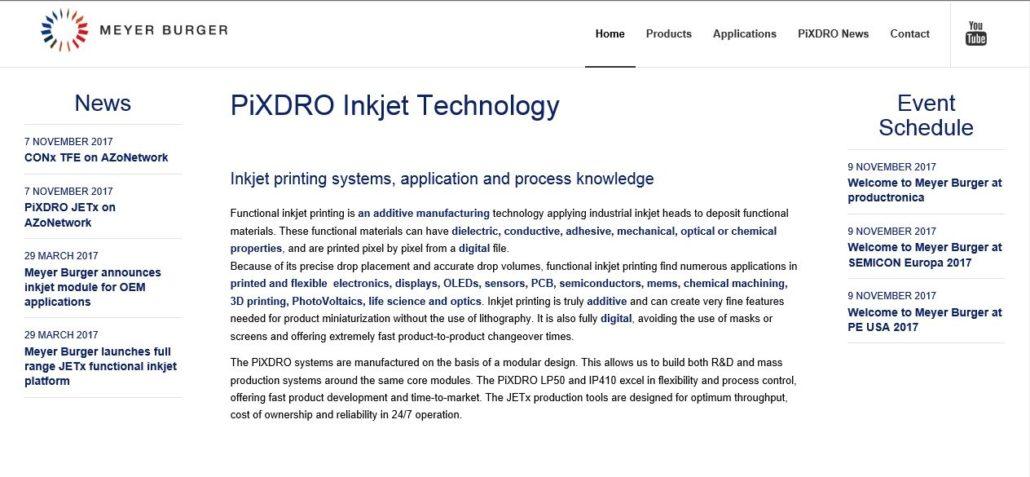redesign webdesign Pixdro.com